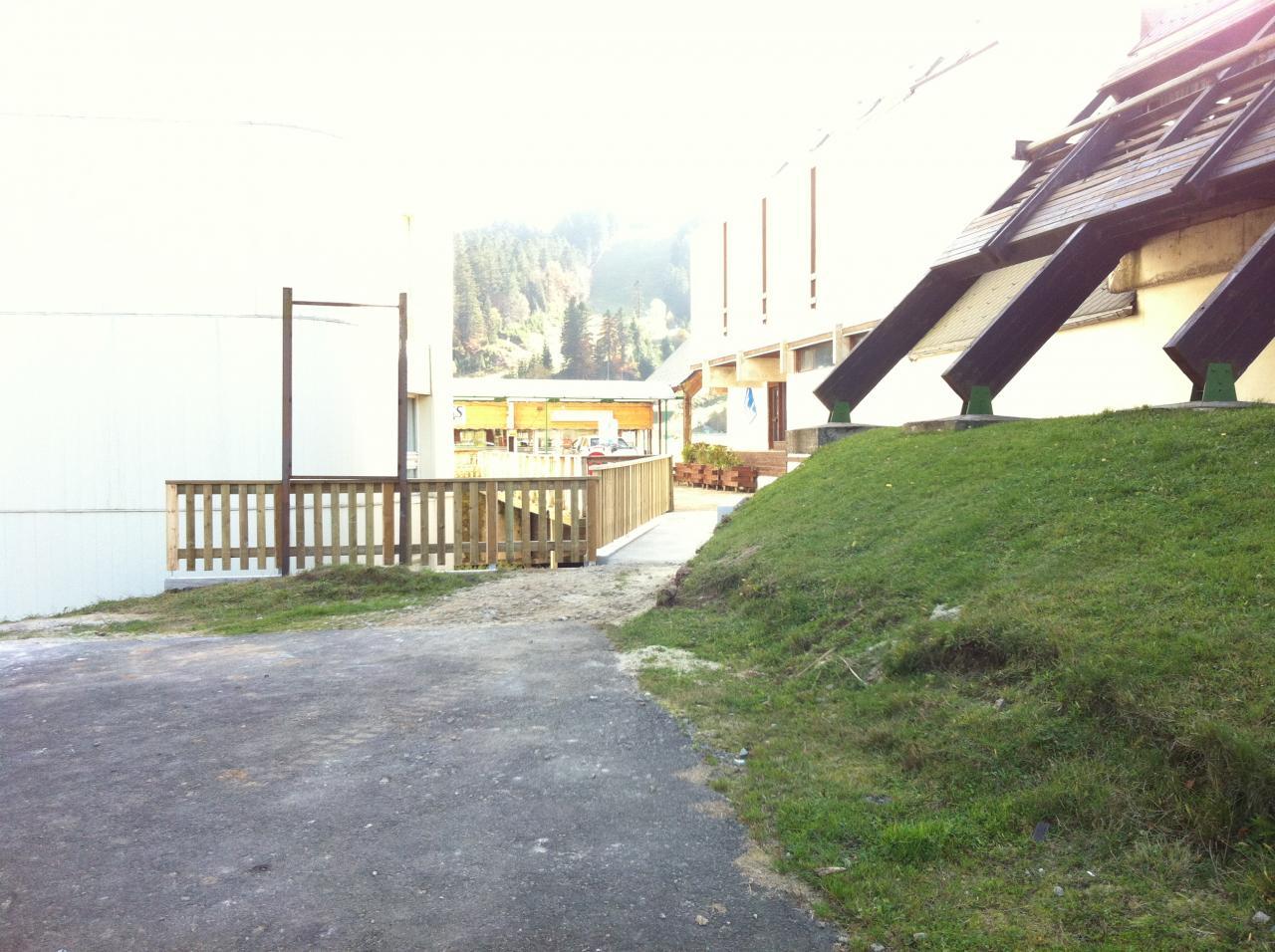 vue du parking