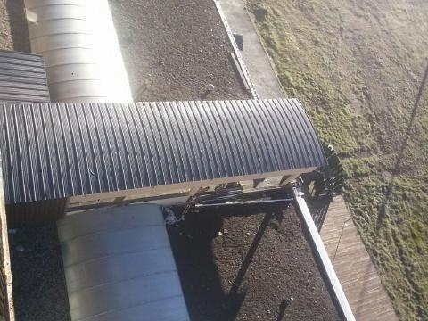 3 toit passerelle vu du 6ème