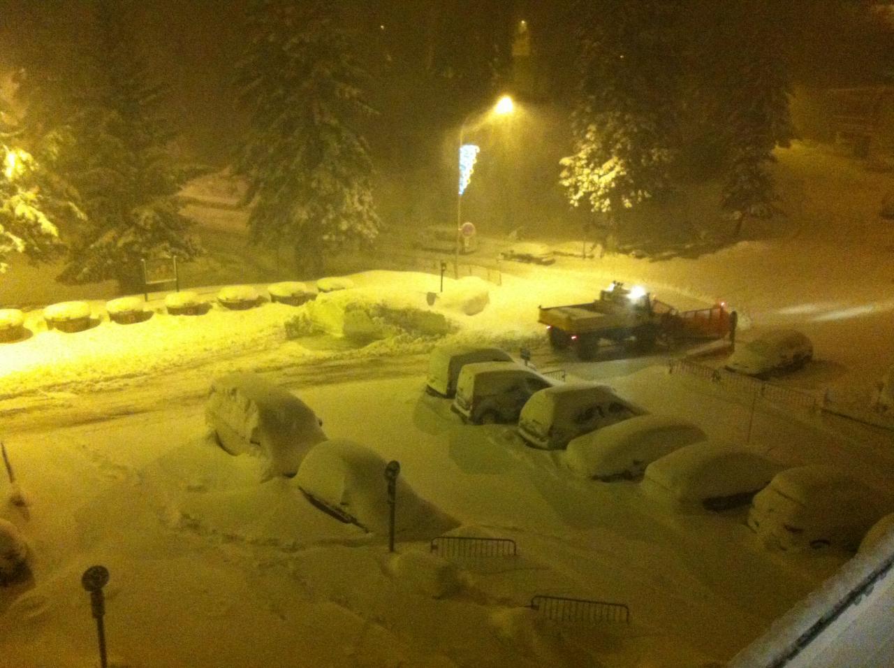 30 janvier dès 4 heures : chasse neige au travail