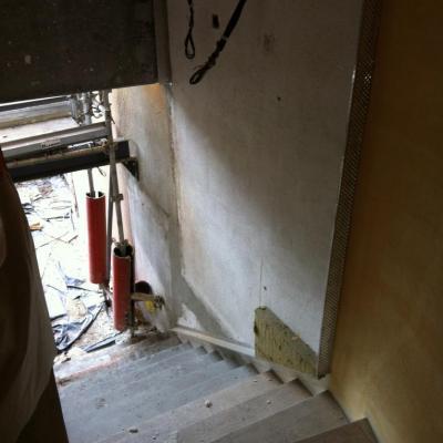 9 bas escalier