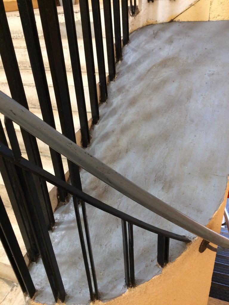 centre colimaçon escalier sud