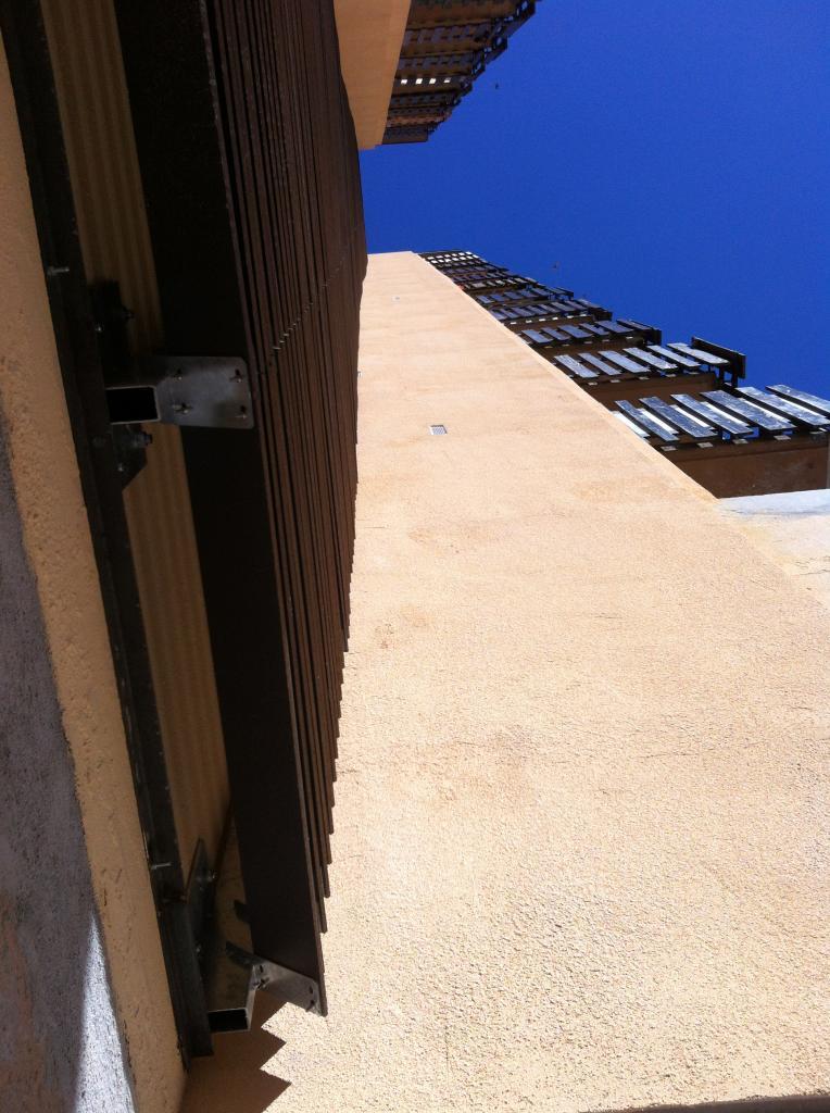 aplomb façade côté impair