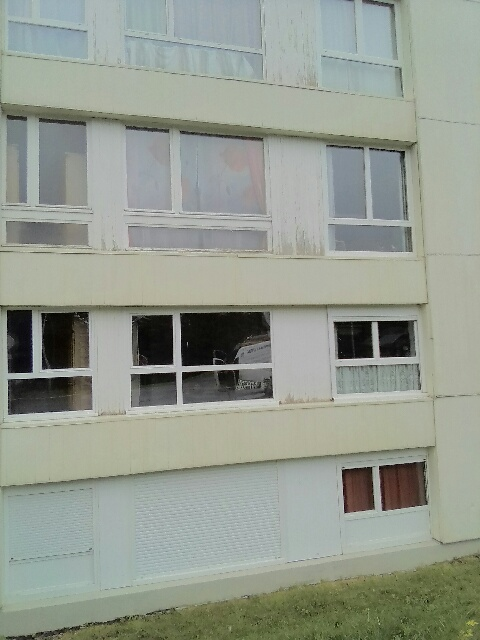 façade nord nettoyée