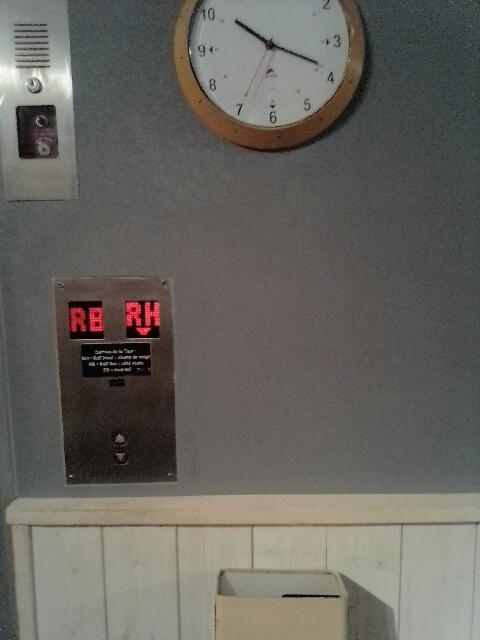 paroi palier ascenseur R bas