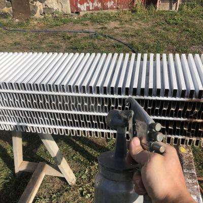 nettoyage du radiateur au karcher