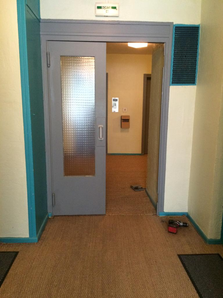 le 2ème étage avant travaux