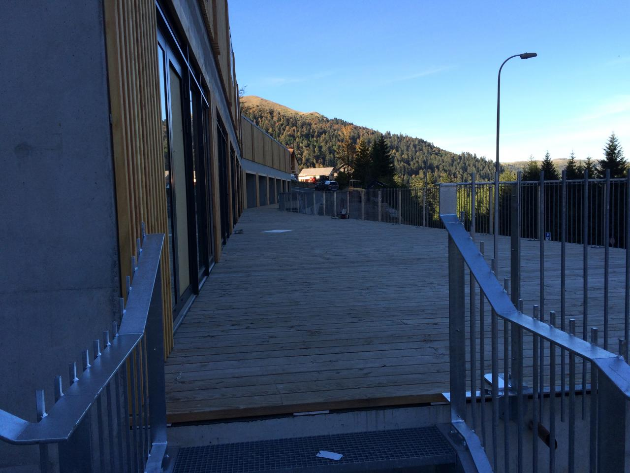28/9 : accès au  balcon du 1er étage