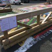 barrière fournie par mairie avec arrêté municipal