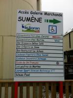 les commerces de Sumène