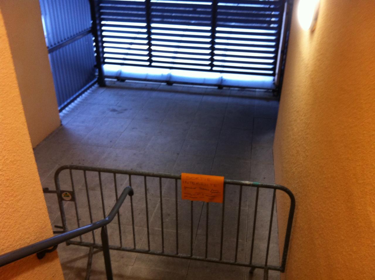 accès interdit