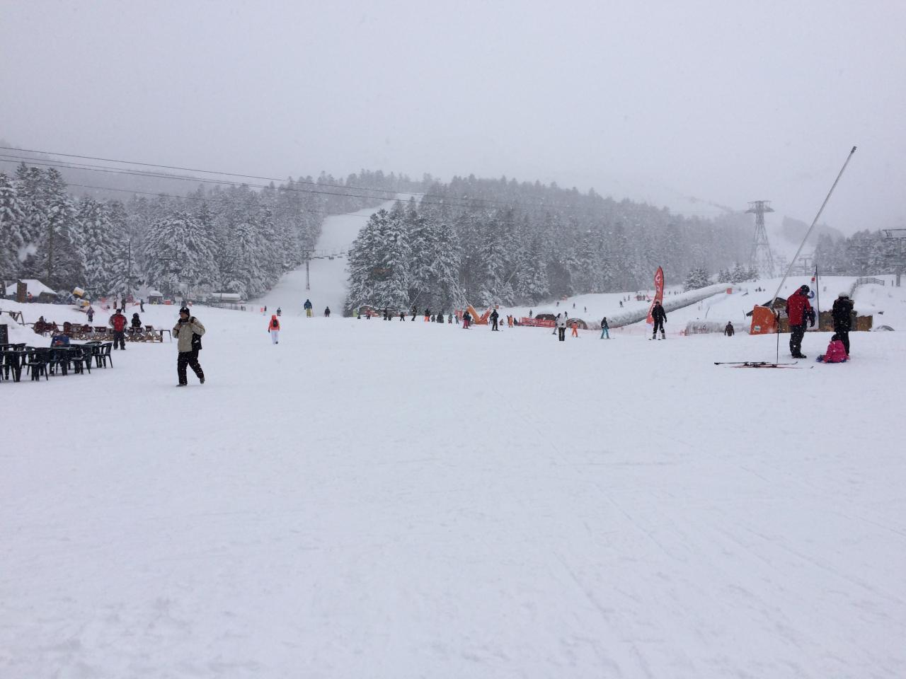 vendredi aprem : il neige !