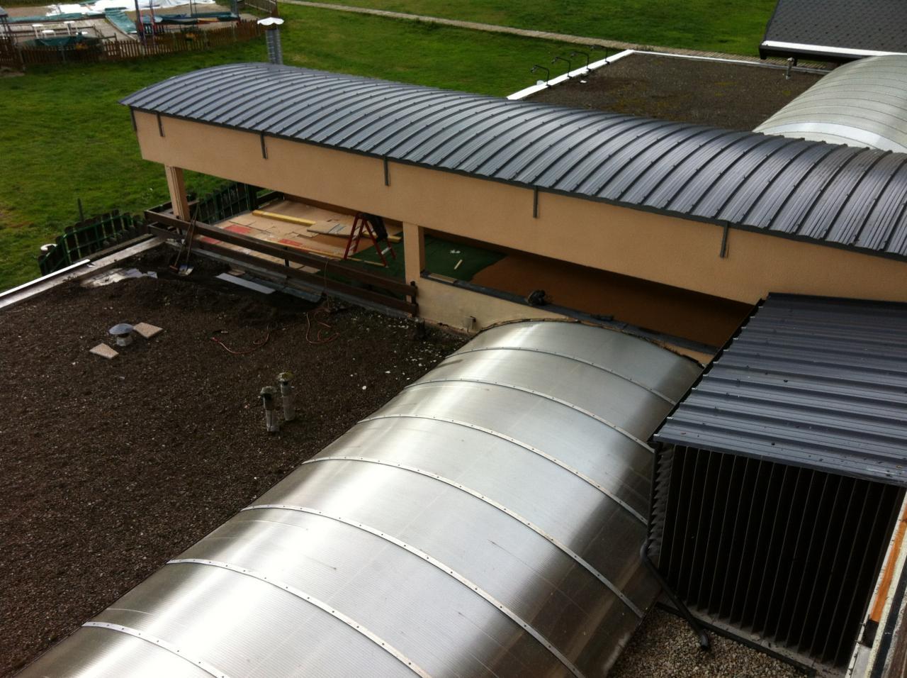 toit terrasse vu du haut