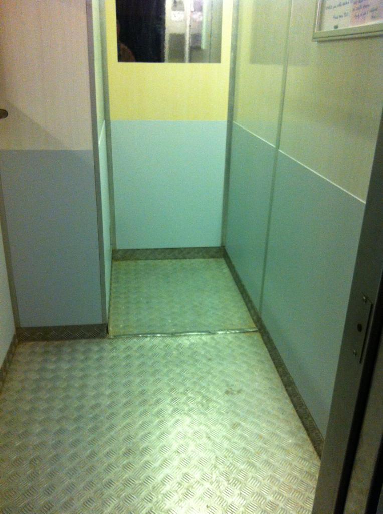 l'ascenseur relooké