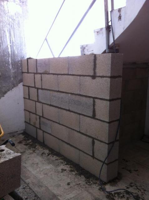 cloison en construction