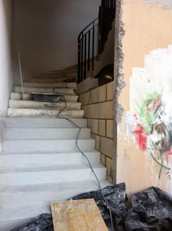 nouvel escalier praticable