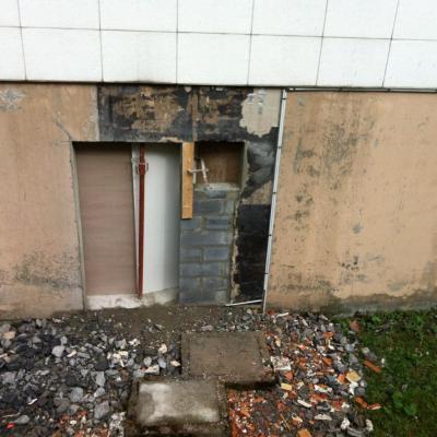 ouverture porte sous sol