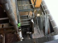 montage échafaudage en cours