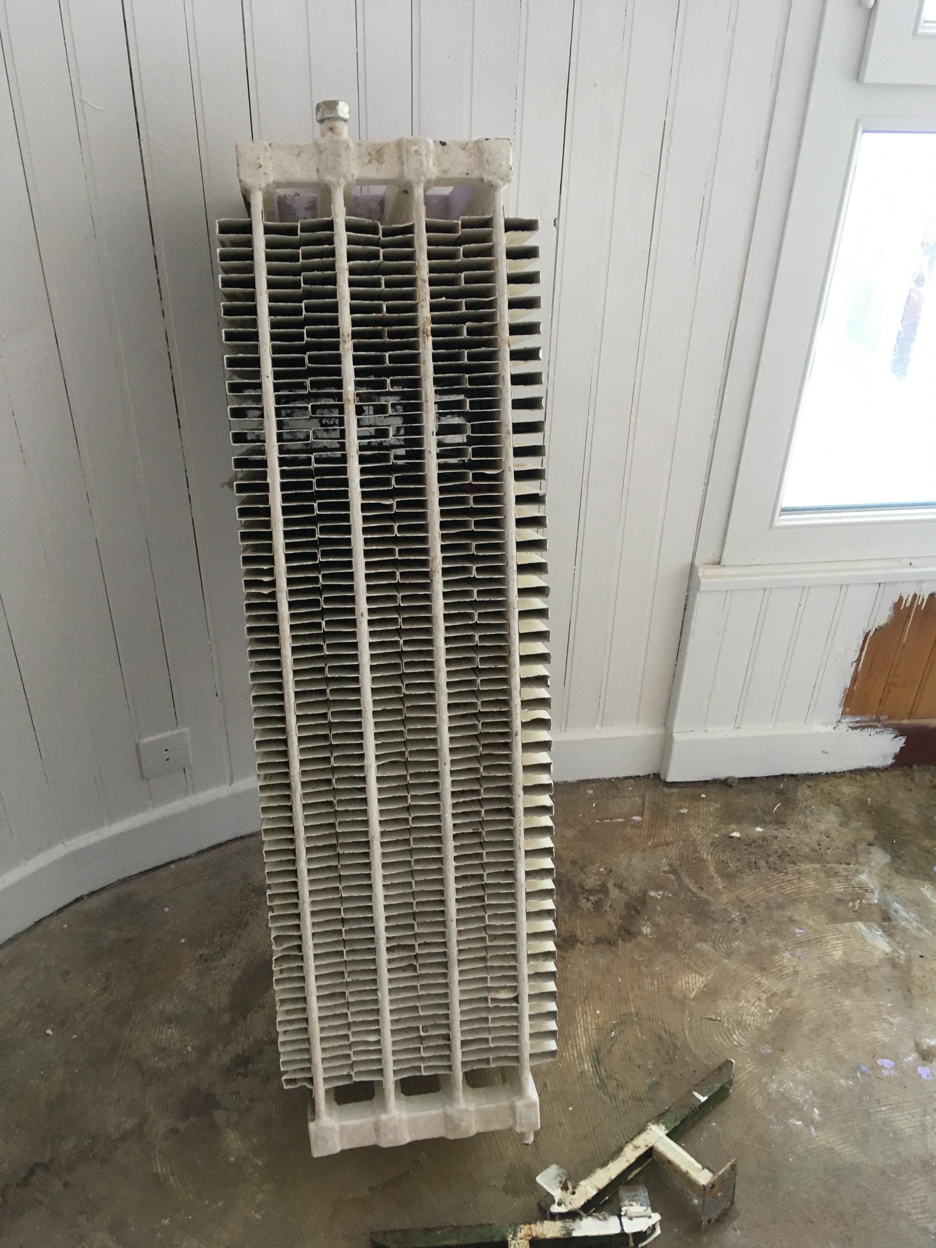 état du radiateur de la chambre