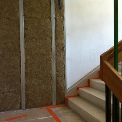 isolation latérale escalier