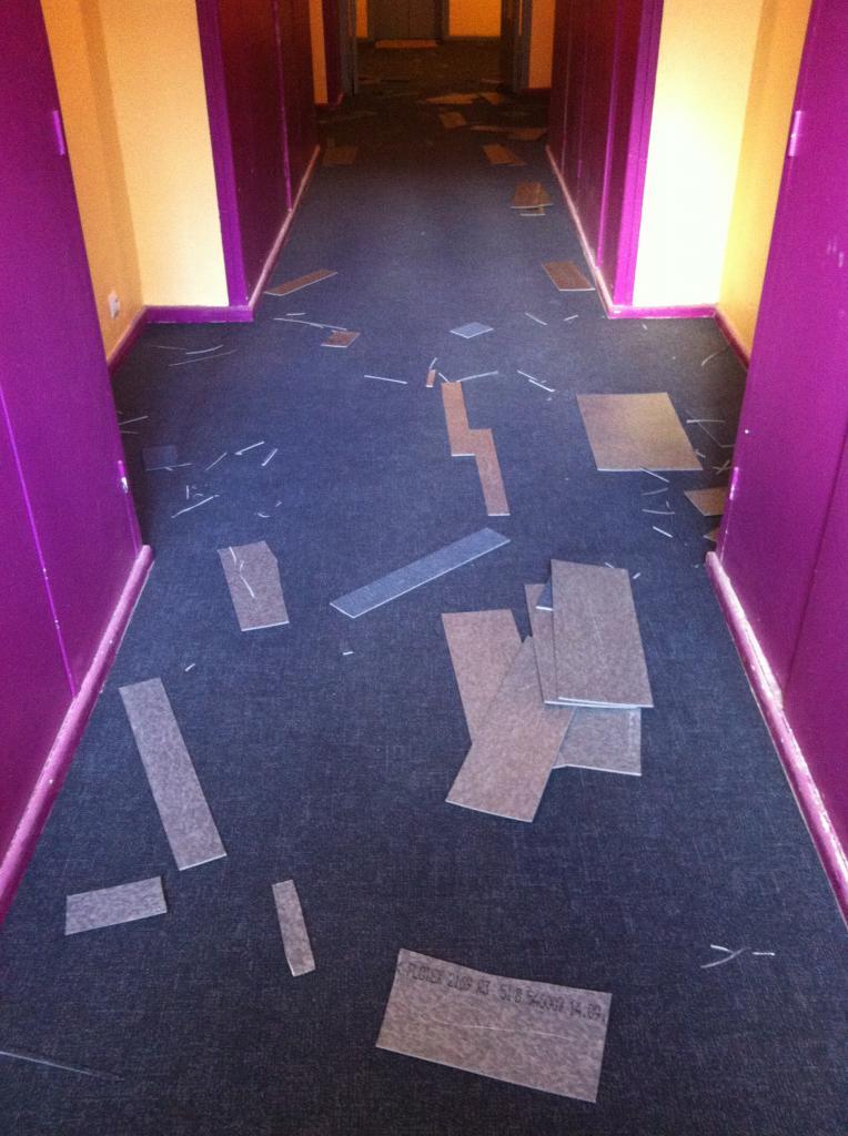 le puzzle des couloirs