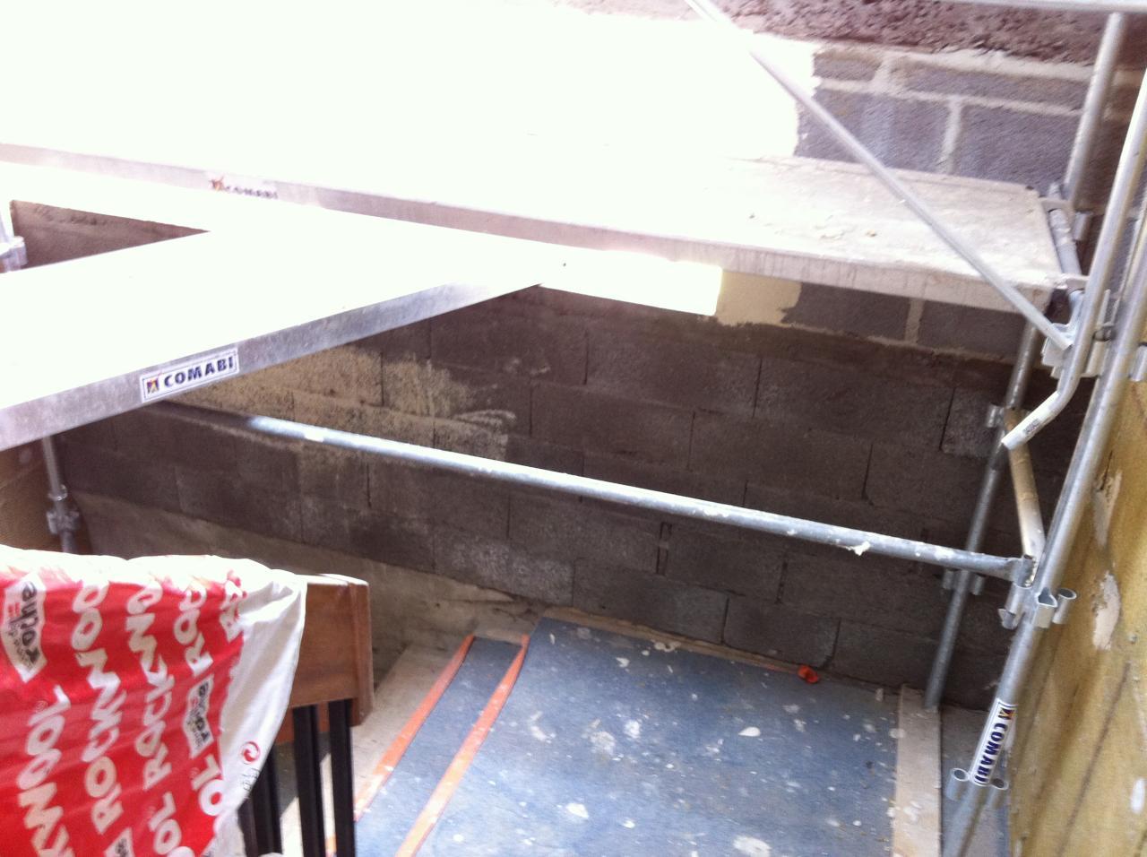 murs escalier au 13ème (1)