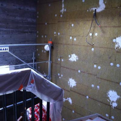 murs escalier au 13ème (2)