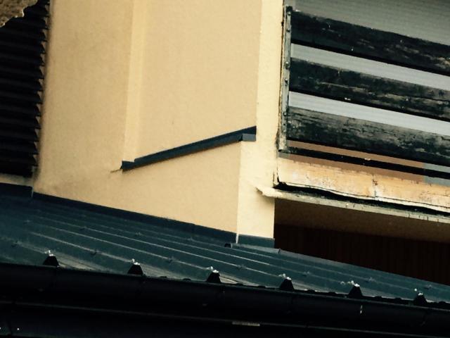 protection étanche dessus isolant vertical