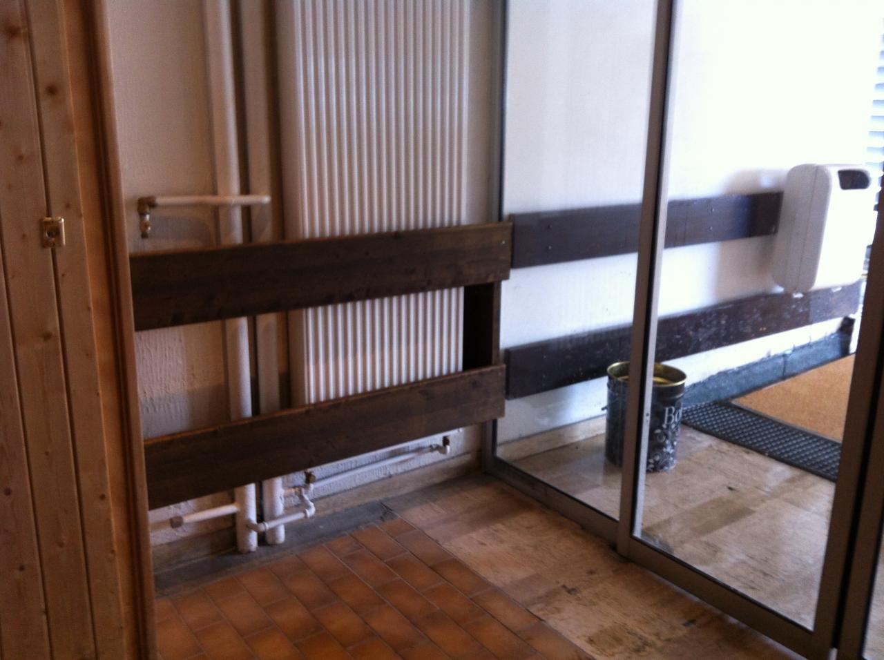 protection radiateur entrée sud