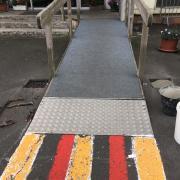 réparation rampe accès