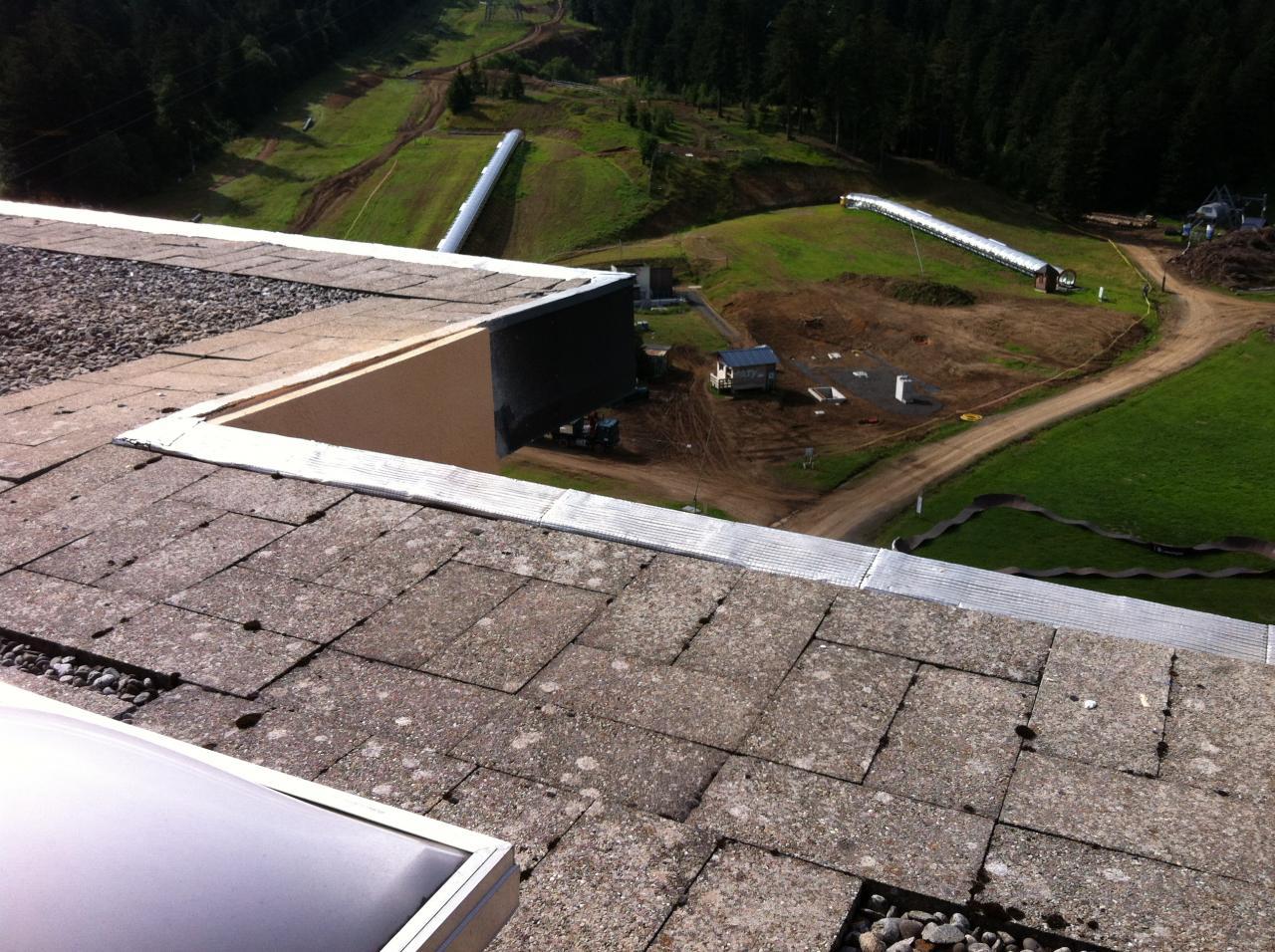 1 vue du toit de Sumène