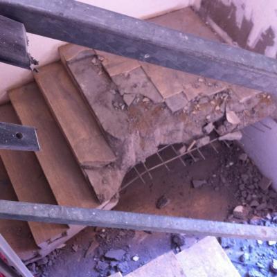 3 escalier à casser