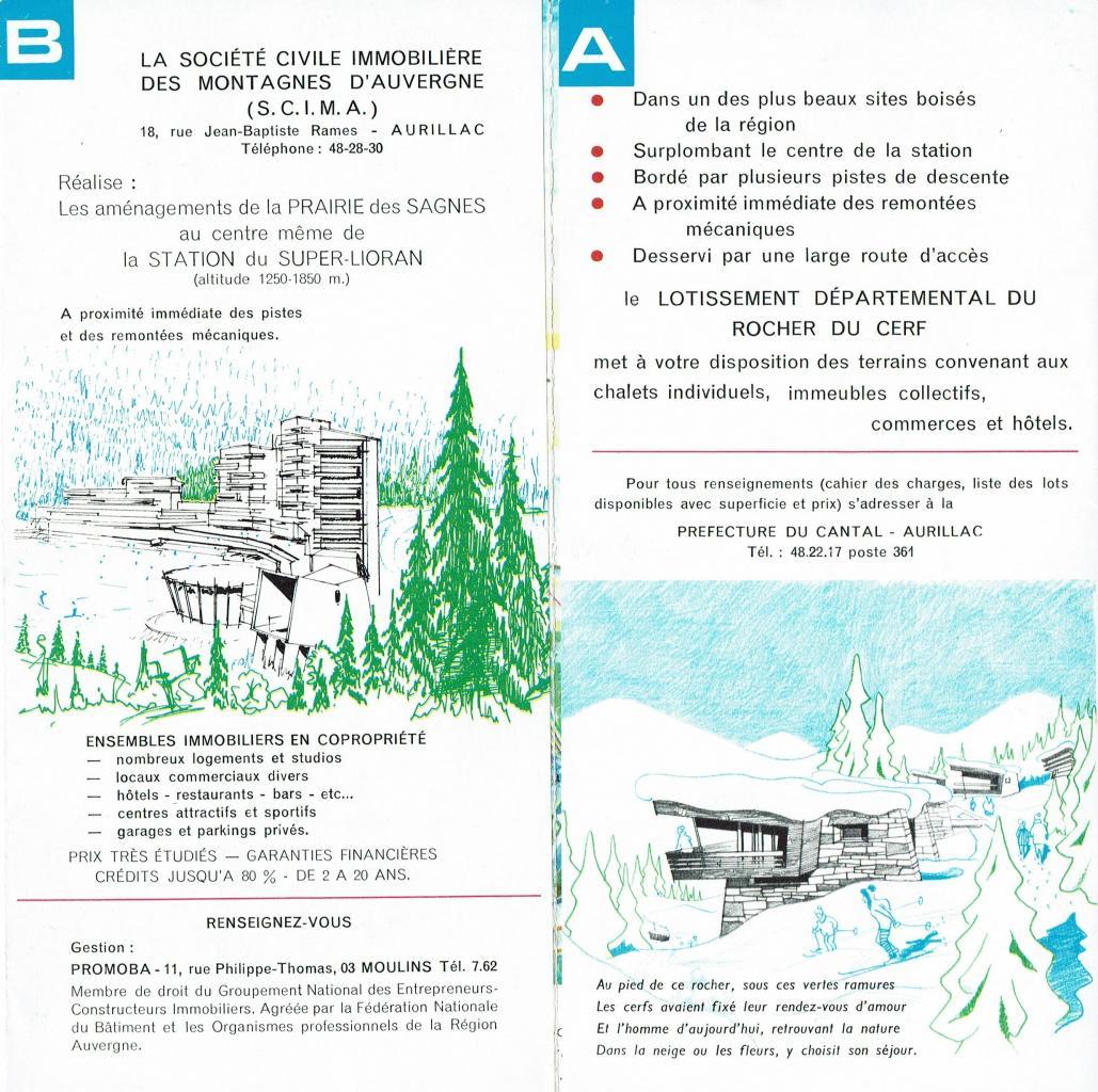 dépliant B pages B et A