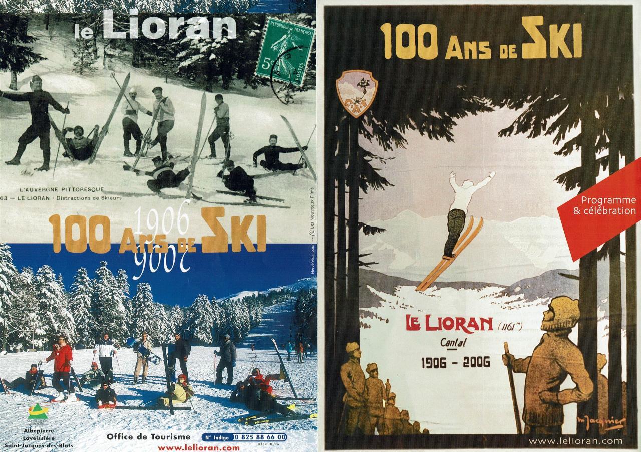100 ans de ski  couverture 1 & 4