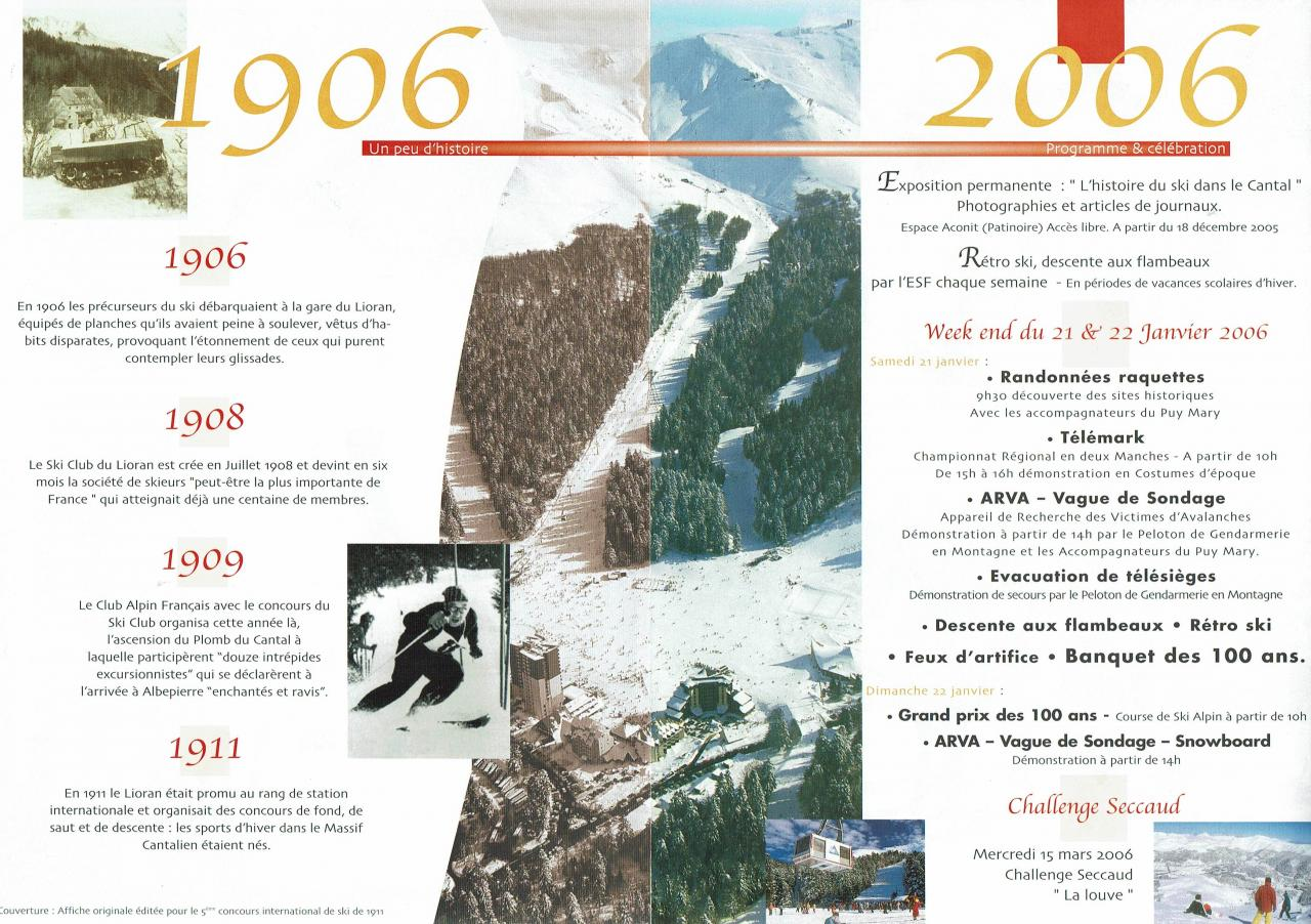100 ans de ski 2 & 3