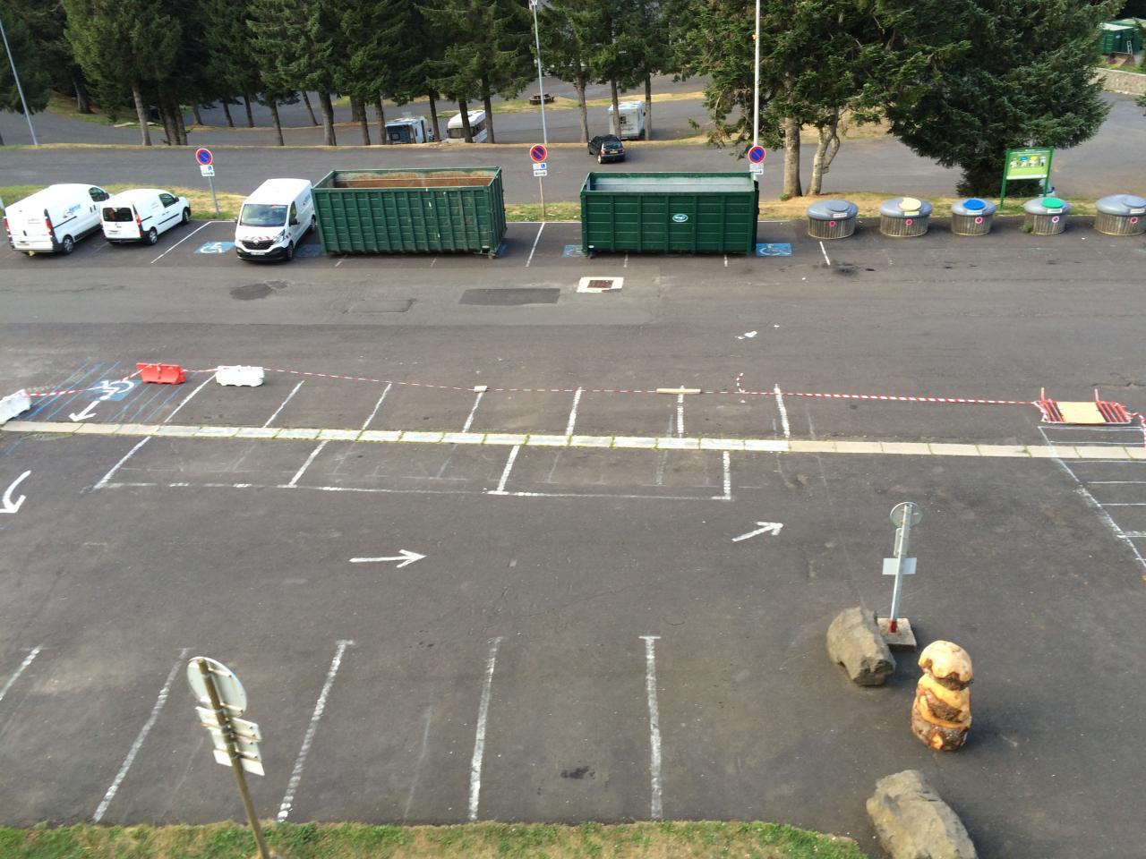 1 préparation parking jeudi soir