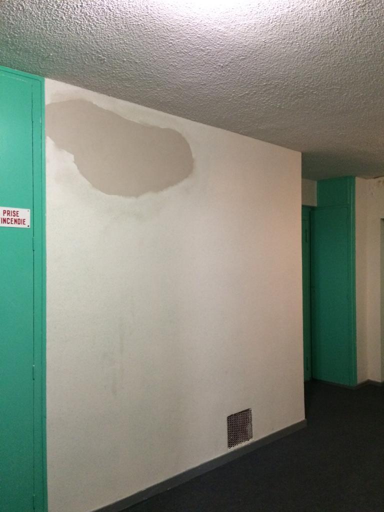 réparation effcetuée, il faudra encore peindre !