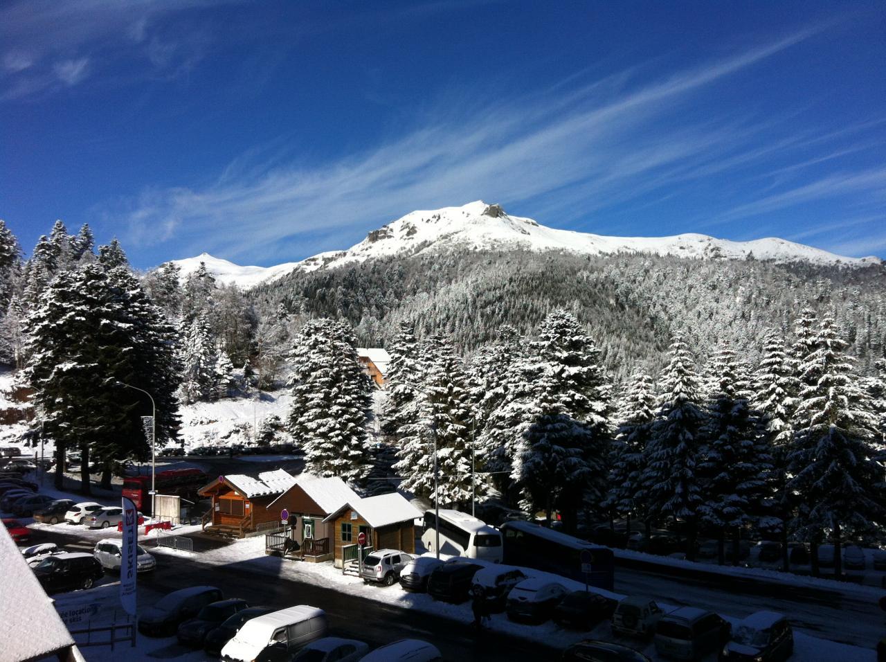 18 janvier : premières chutes de neige