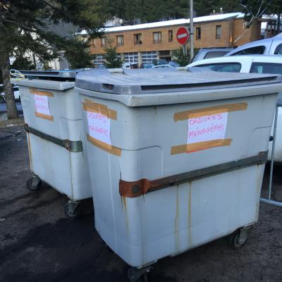 les poubelles du LIORAN