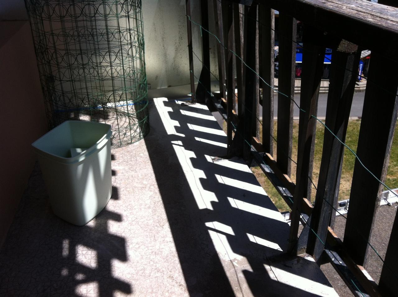 balcon refait