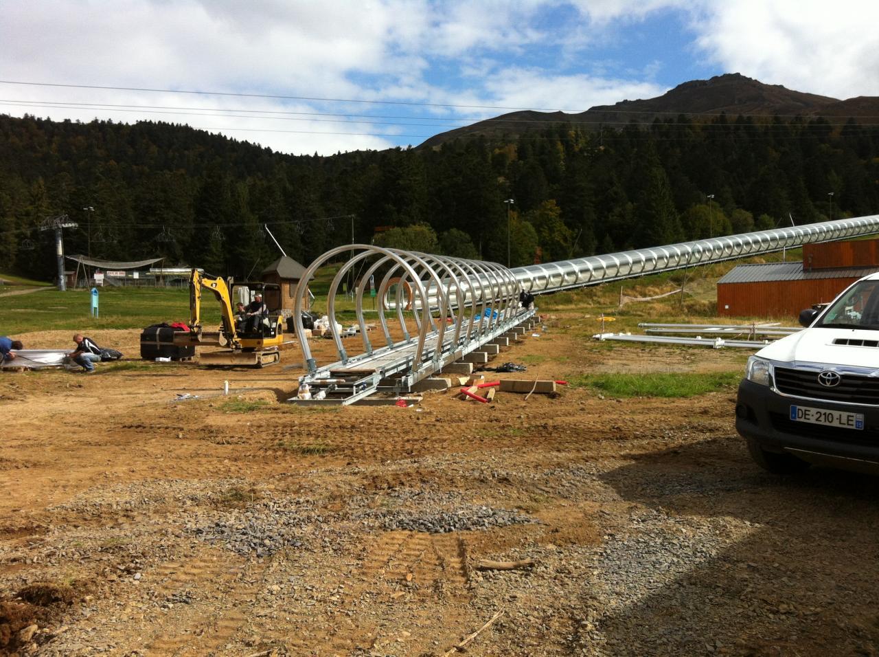 construction du TROTTOIR roulant mardi 15h