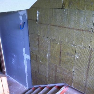 isolation parois escalier