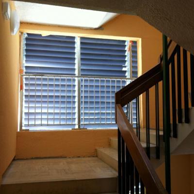 la nouvelle cage d'escalier