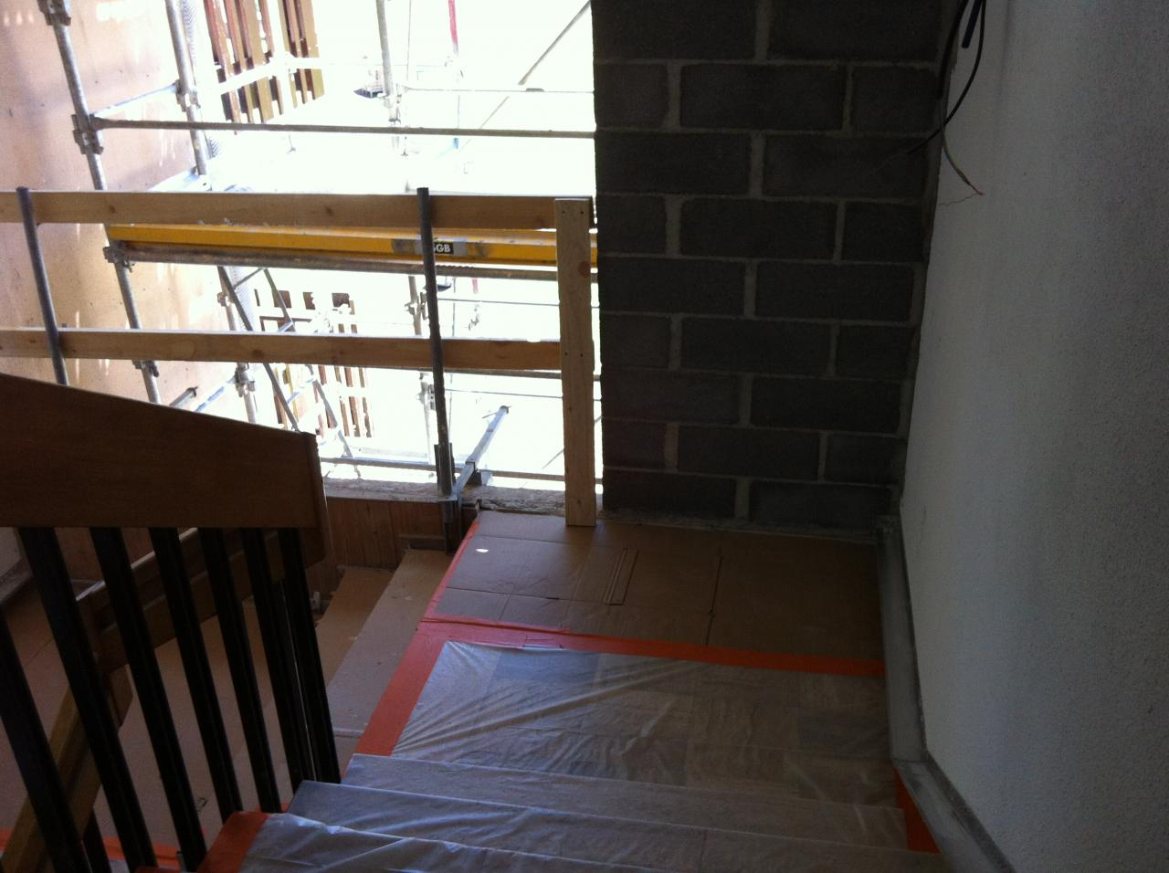 protection escalier pour crépi (1)