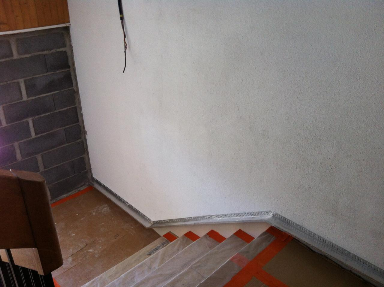protection escalier pour crépi (3)
